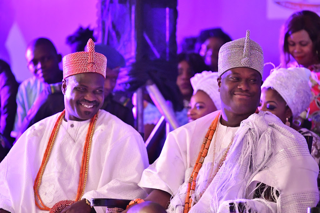 The Ooni of Ife, First Lady of Ogun State Sit Front Row at Africa Fashion Week Nigeria 2018